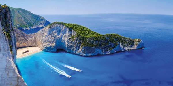 Zakynthos shipwreck beacj