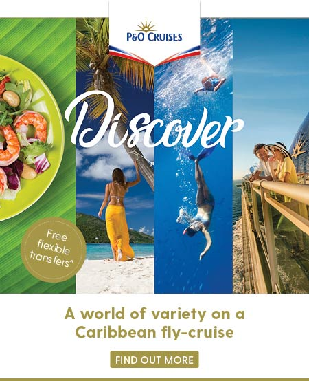 discover a po cruises caribbean holiday