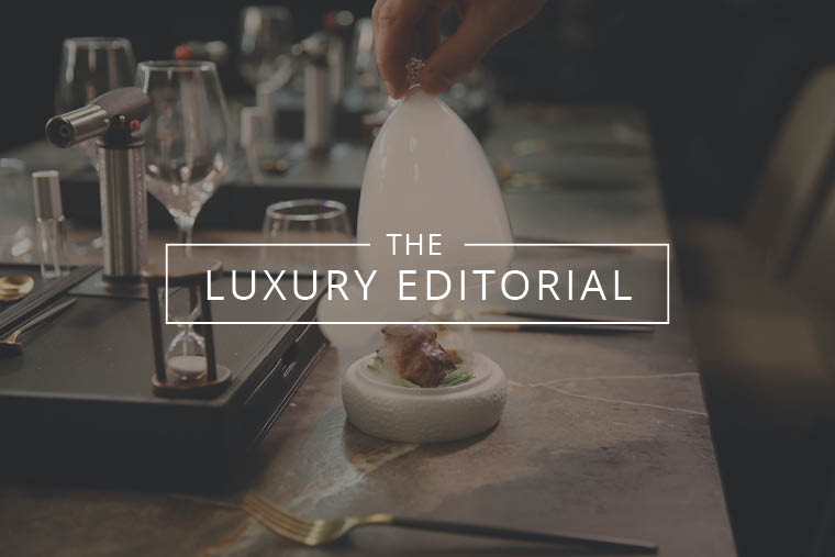 The Luxury Editorial : Food