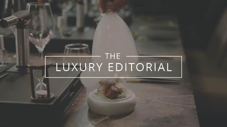 The Luxury Editorial : Dinnertime Delights