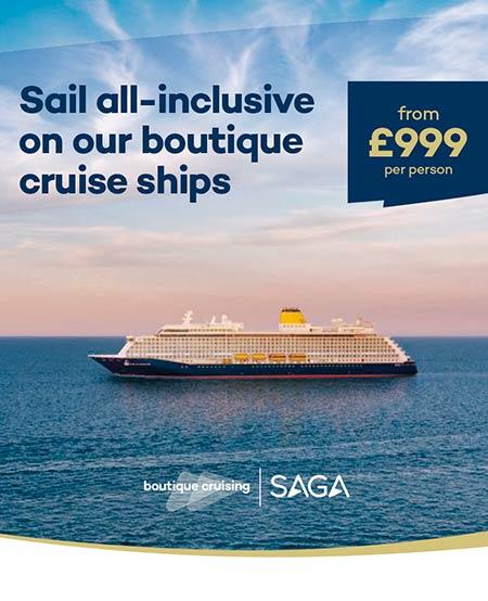 Saga boutique cruises