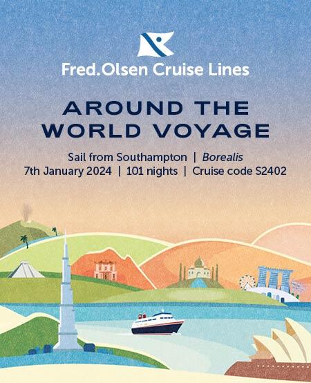 fred olsen cruises around the world 2024
