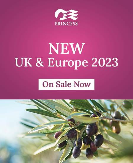 princess cruises europe 2023 now on sale
