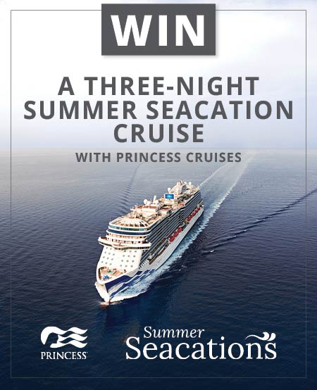 princess cruises win a cruise competition