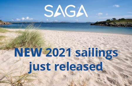Saga Cruises 2022