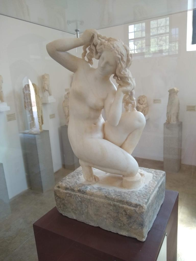 Aphrodite Bathing - The Venus of Rhodes – 1st Century BC - Archaeological Museum