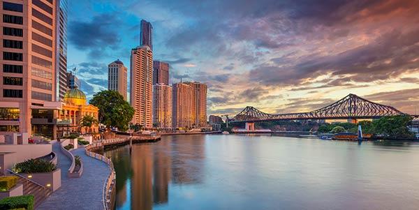 Brisbane river front