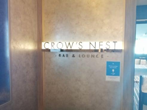 Crownest Bar Entrance