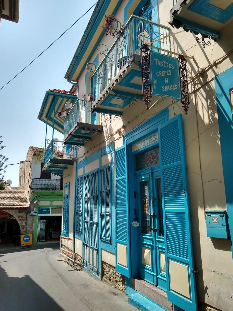 Lefkara hill village streets