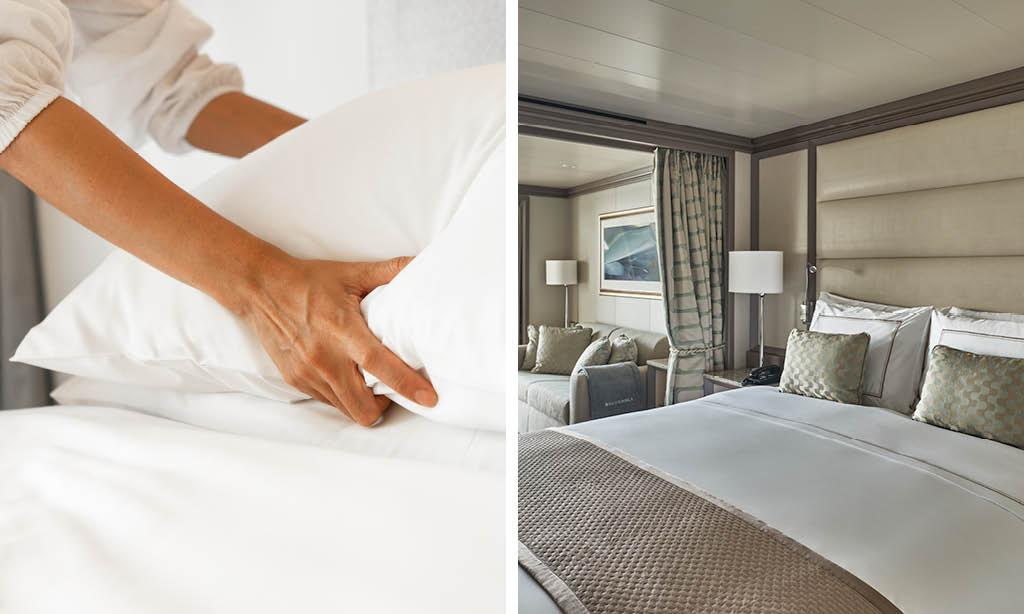 Silversea Pillow Menu