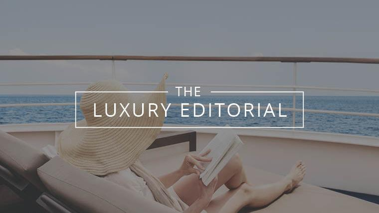 The Luxury Editorial : Suite Spots at Sea