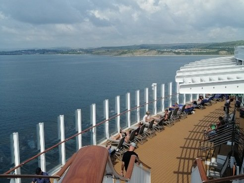 Sundeck In The Day