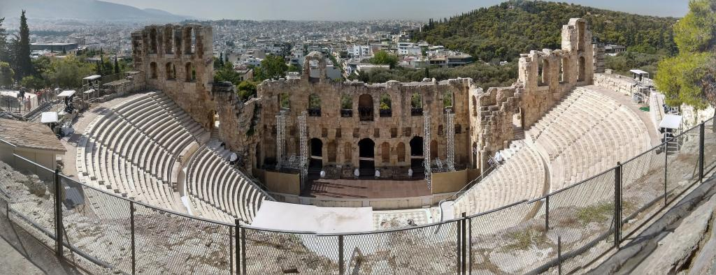 The Odeon of Herodes Atticus 161 AD- Acropolis