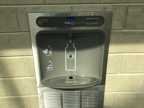 Water Bottle Fill Station