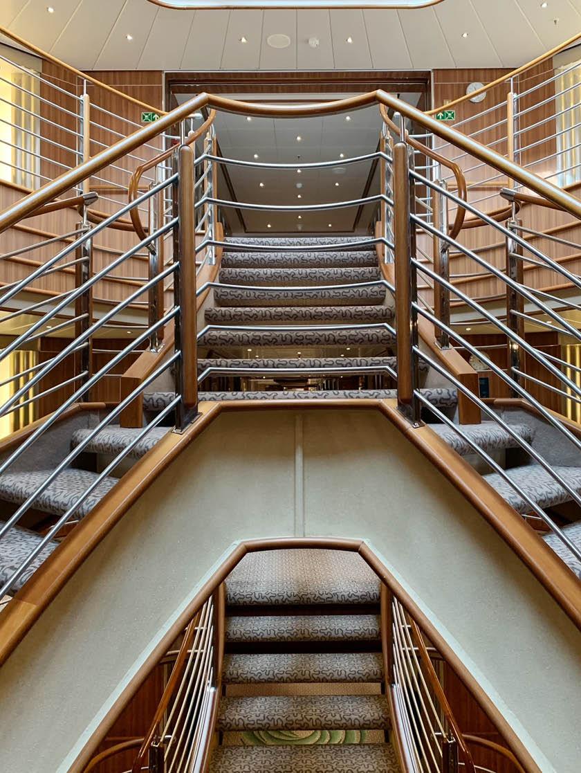 Silver Spirit Staircase