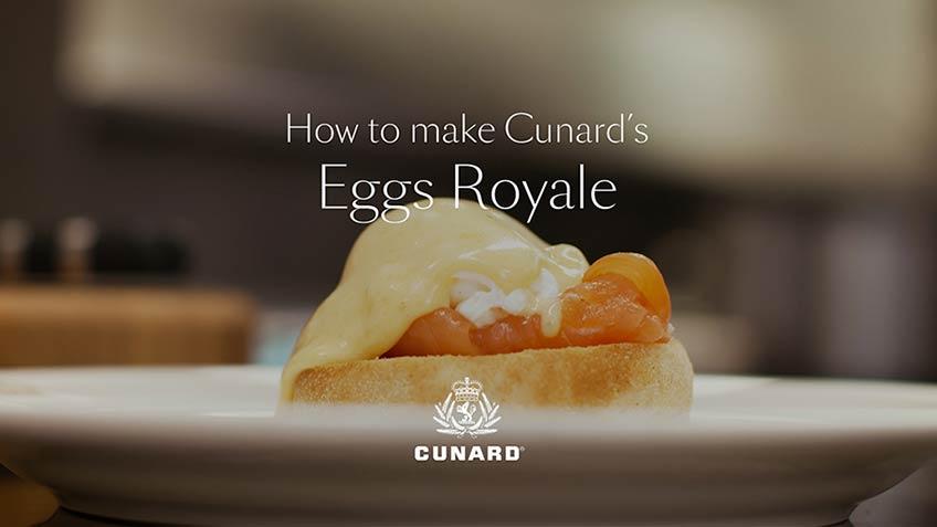 Cunard eggs royale recipe