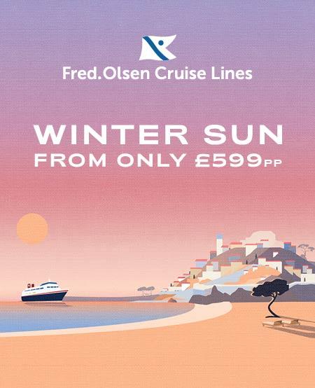 Fred Olssen Winter Sun From £599pp