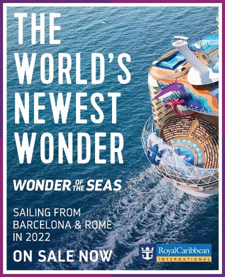 Wonder of the Seas now on sale