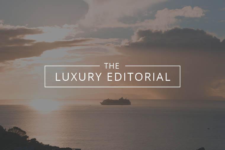 Luxury Editorial : New Ships on the Horizon