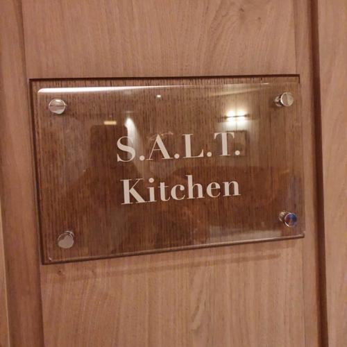 S.A.L.T Kitchen Sign