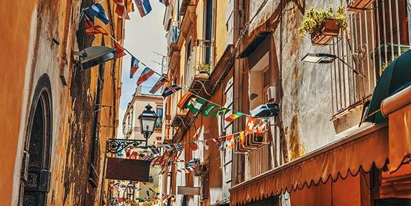 Naples back streets