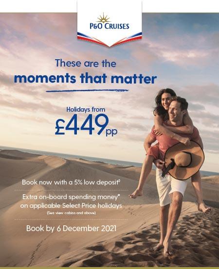 5% low deposit & EXTRA on-board spend
