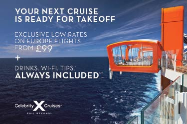 Celebrity Cruises – flights to Europe from £99