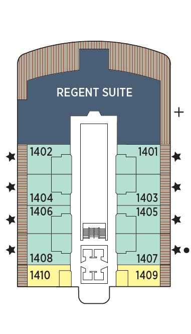 Seven Seas Grandeur Deck 14