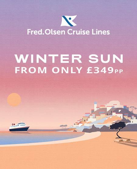 Fred Olsen Winter sun from £349pp
