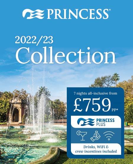Princess Cruises 2022/23