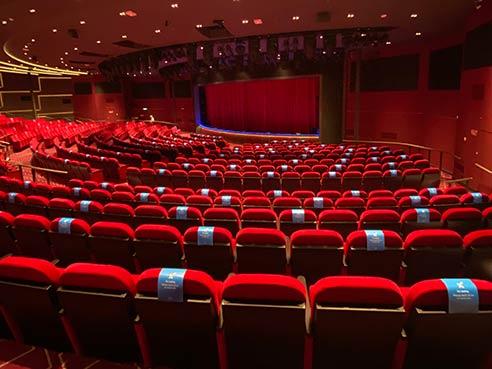 Headliners Theatre Seating
