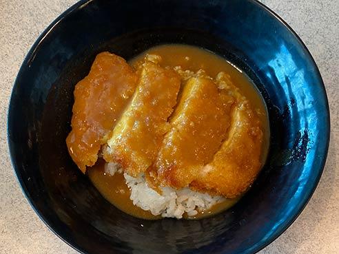 Fusion Chicken Katsu