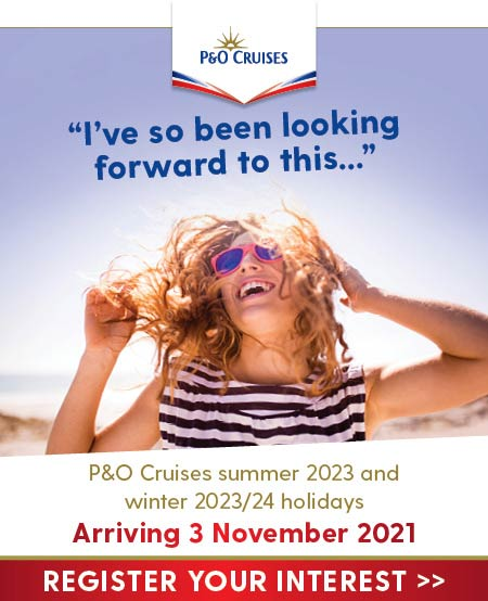 P&O cruises 2023 2024 launch
